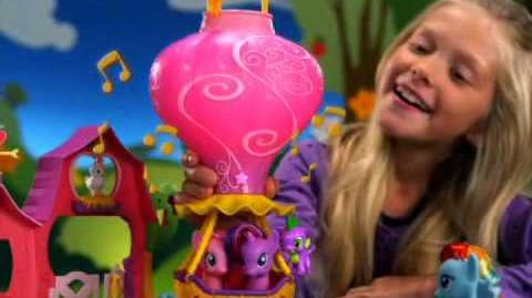 2011 My Little Pony Barn & Balloon Commercial