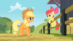 250px-Aj talking to applebloom SE2Ep14.png