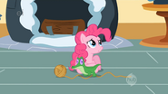 A confused Pinkie Pie