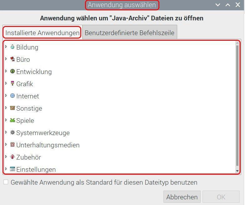 Raspbian Dateieigenschaften Öffnen mit.jpg