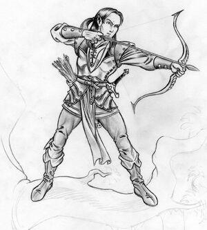 1 elf archer by danbrenus DL.jpg