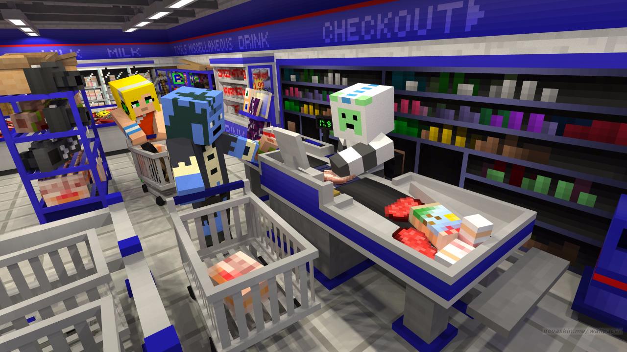 User blog:Chrisatsinnoh/MySims Minecraft Mash-Up Pack idea