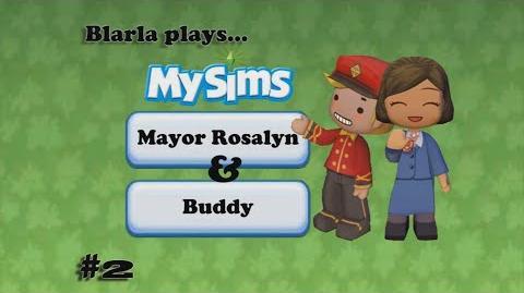 MySims (Episode 2 - Rosalyn & Buddy)