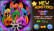 Prismatic Glowl promo