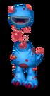 Blue Prismatic Thrumble