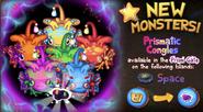 Prismatic Congle Promotion