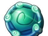 Polished Aquanine Crystal