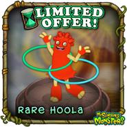 Rare hoola temporary