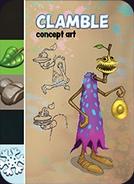 Clamble Concept Card