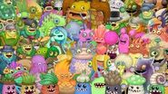 My Singing Monsters - All Sleeping Animations