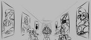 Ghost Paintings storyboard 1