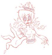 Future Shiromori's death drawing