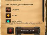 Ajax's Mining Lesson