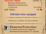 Epic Paladin's Mysterious Shield