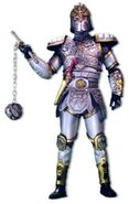 MK-knight of earth mace