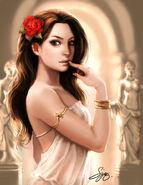 Aphrodite by kamillyonsiya