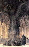 Barnstokkr - the Hall of the Volsungs (off 'Castles') by Alan Lee