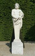 Parc de Versailles, demi-lune du bassin d'Apollon, Jupiter, Jean-Jacques Clérion 01