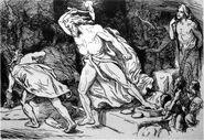 Thor Destroys the Giant Thrym by Frølich