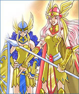 Norse myths in comics Valkyrjur