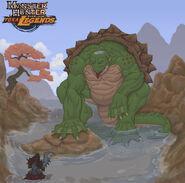 Monster Hunter Yokai Legends - Kappa by DeanBrorsonArt