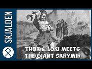 Thor and Loki journeys to the lands of Giants - Norse Mythology