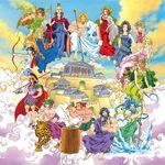 Greek myths in comics Olympians
