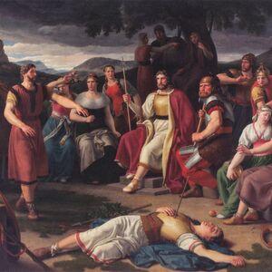 Baldr dead before the Æsir by Eckersberg.jpg