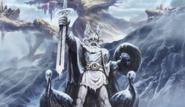 Óðinn statue in Saint Seiya Soul of Gold