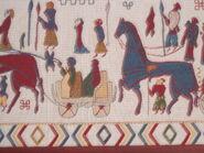 Oseberg tapestry detail