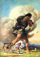 Þórr's Journey with the Giant Skrýmir