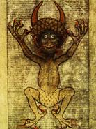 The Black Goat-Man of Wittingau - Codex Gigas