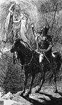 Baldr and Nanna with Hermóðr