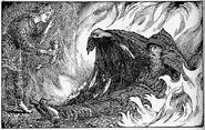 Odin in Torment by Collingwood
