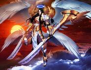 Lucifer pre-fall by GENZOMAN