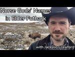 Norse Gods' Names in Elder Futhark