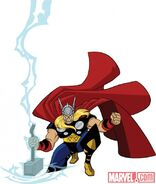 Thor in Avengers - Earth Mightiest Heroes