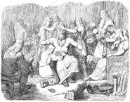 Hammar-hämtningen II. Thor klädes till brud