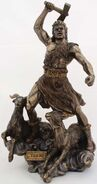 Thor figurine