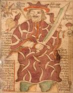 SÁM 66, 77r, Odin