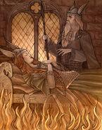 Brunhilde's imprisonment by NatasaIlincic