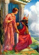 Odin and Frigga by Harry George Theaker 1920