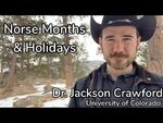 Norse Months and Holidays