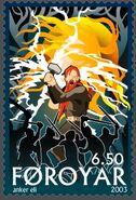 Faroe stamp 432 Gullveigs Execution