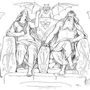 Frigg and Odin in Grímnismál by Frølich.jpg