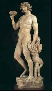 Dionysus Greek God Statue 02.jpg