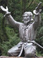 Okuninushi statue