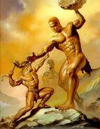 Thor vs Hrungnir