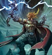 Thor god of thunder shirtless