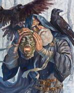 Óðinn and Mímir's Head (2006) by Sam Flegal